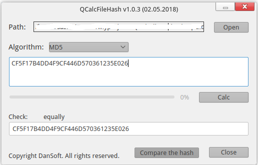 QCalcFileHash images