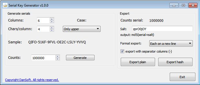 SerialKeyGenerator images